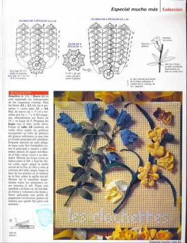 crochet flowers | make handmade, crochet, craft: