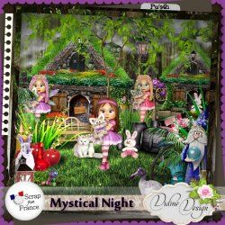 Mystical Night by Didine Design