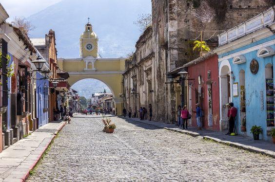 América Central - Antigua - Guatemala