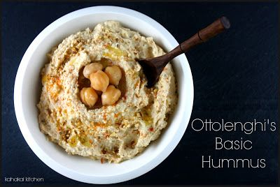 Ottolenghi's Basic Hummus   It's an App!   Pinterest   Hummus ...
