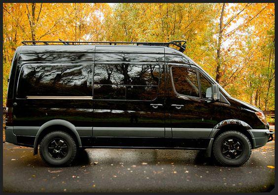 Custom sprinter vans pinterest 39 salem 39 s lot boxes for Garage 4x4 ain