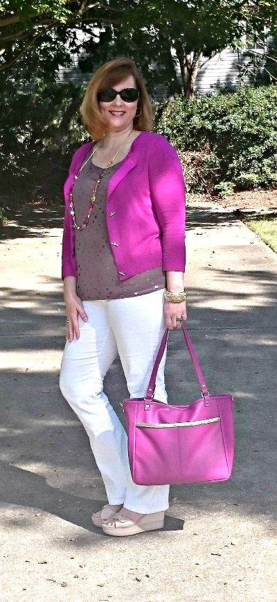 Radiant Orchid, 31 Purse, Over 40 fashion: