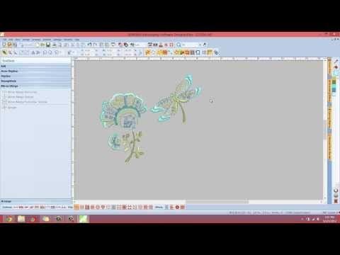 File Menu | Insert Embroidery - YouTube