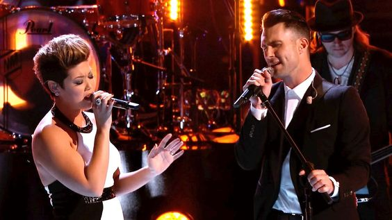 """The Voice: Tessanne Chin and Adam Levine: """"Let It Be"""""""