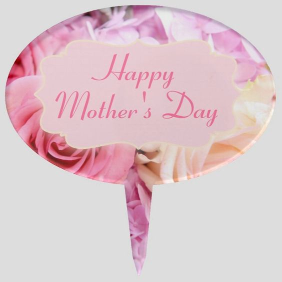 Pink Roses Mother's Day Cake Pick by JunkyDotCom at Zazzle http://www.zazzle.com/pink_roses_text_cake_pick-256042365787516774?rf=238087280021604351 #mothersday