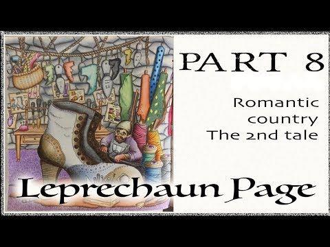 Leprechaun Left Part 8 11 Romantic Country Coloring Book Tutorial Youtube Coloring Books Romantic Country Romantic
