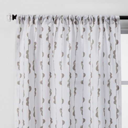 2pc Vines Light Filtering Window Curtain Panels Project 62