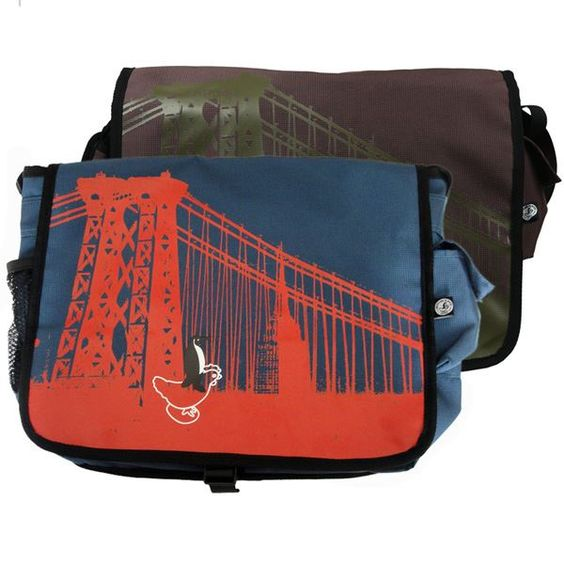 NYC Messenger Bag, $32.83 with code SummerSale