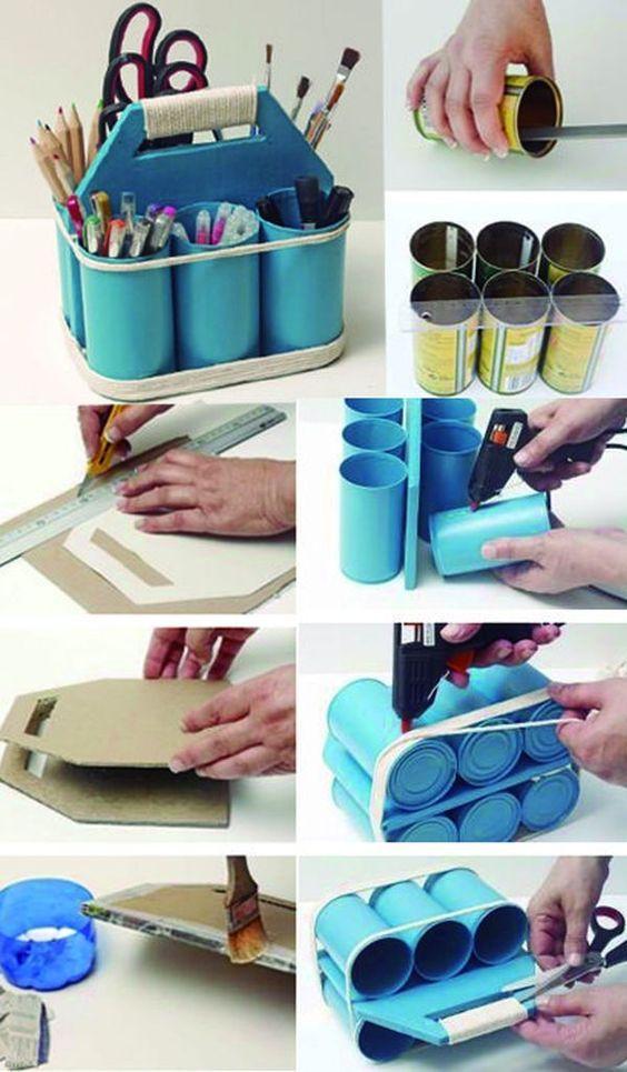 Luty Artes Crochet: Ideias com Reciclagem