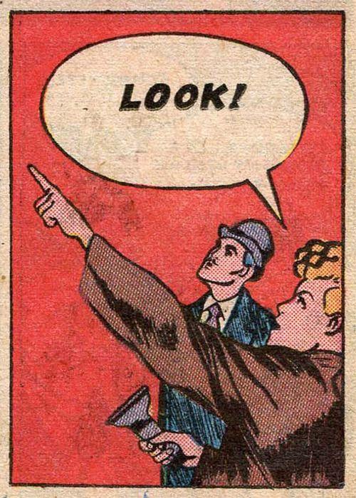 Look! Vintage comic: