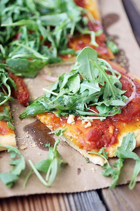 Vegan Rocket Pizza