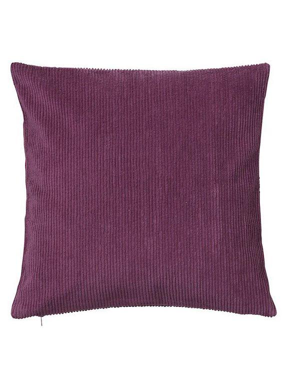 Kissenhülle aus Cord. Mit Reißverschluss. Aus reiner Baumwolle. Materialzusammensetzung: Obermaterial: 100% Baumwolle...