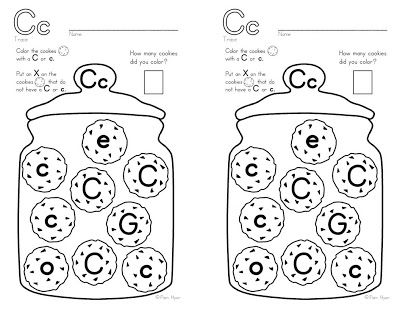 C is for Cookies - free worksheet download | Letter C | Pinterest ...