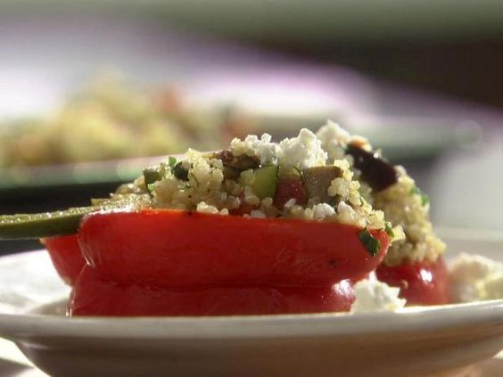 Rachael's Quinoa and Vegetable Stuffed Peppers