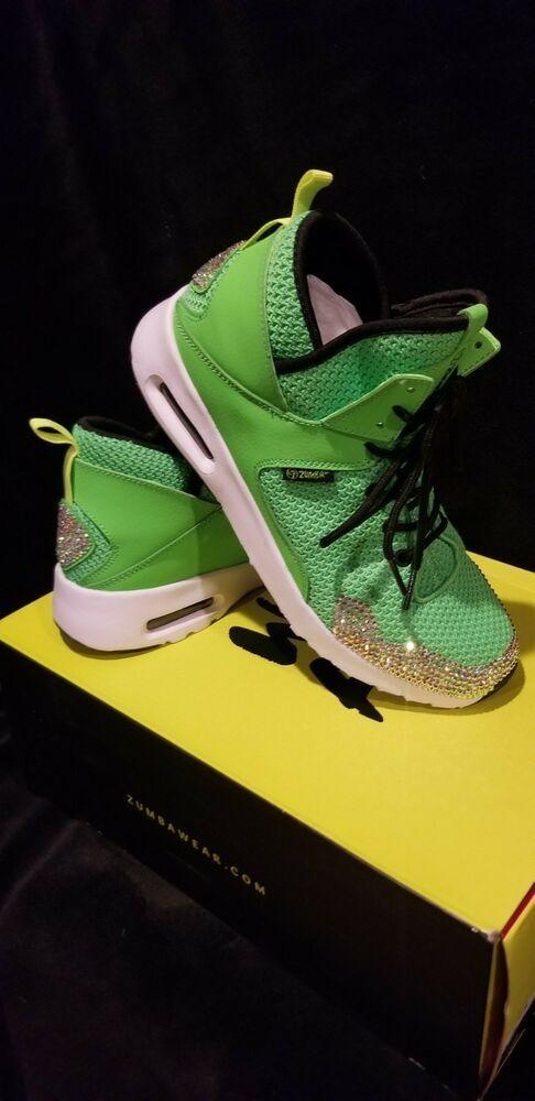 Bling zumba shoes green size 8 #fashion #clothing #shoes