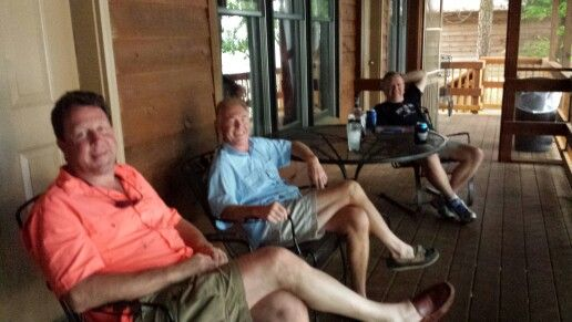 Front porch party in Alabama