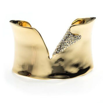 Liquid Gold Torn Cuff