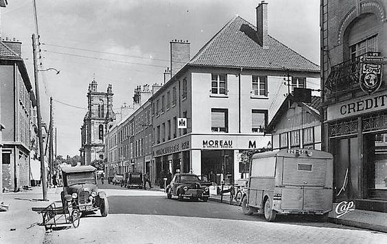 Vitry-Le-François ( marne) rue du pont