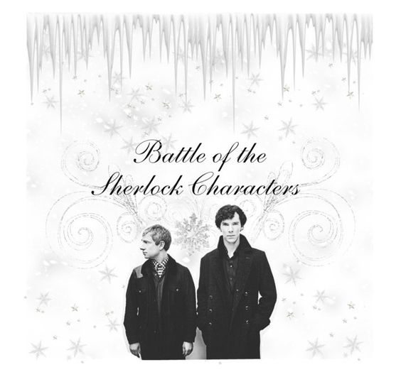 """""""Join Battle of the Sherlock Characters"""" by bwaytrash ❤ liked on Polyvore featuring art"""