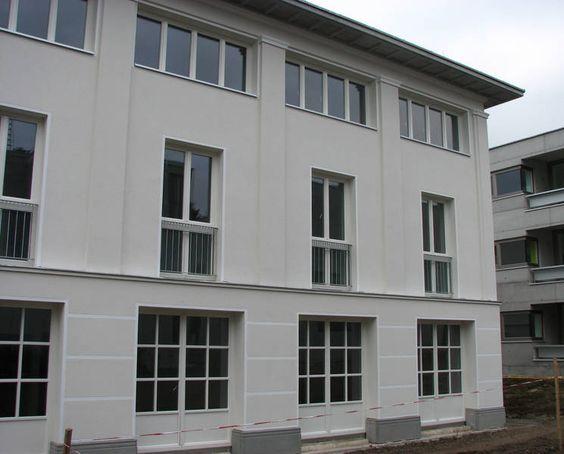 Hans Kollhoff | Viviendas Siedlung Hadersdorf Model State 9=12 (Mustersiedlung 9=12) | Viena, Austria | 2007 | Foto: Pez Hejduk Mustersiedlung 9=12 - ÖSW