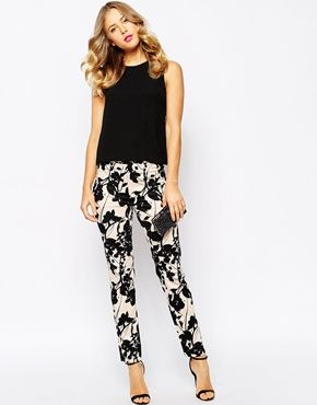 Coast Triste Printed Trousers