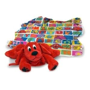 Clifford The Big Red Dog Blanket