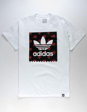 adidas t shirt rose