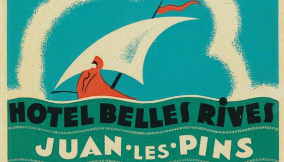 L'Hôtel : Histoire de l'Hôtel Belles Rives - Hotel Belles Rives : Antibes, Juan les Pins