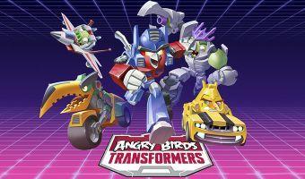 Los Autobirds lucharán contra deceptihogs en Angry Birds Transformers