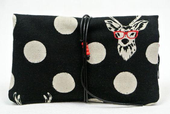 Tabakbeutel - Tabaktasche für alle Päckchengrößen - ein Designerstück von suska-design bei DaWanda