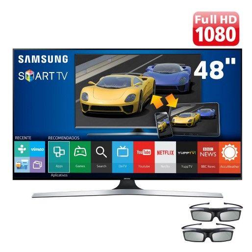 SMART TV 3D LED FHD 48J6400