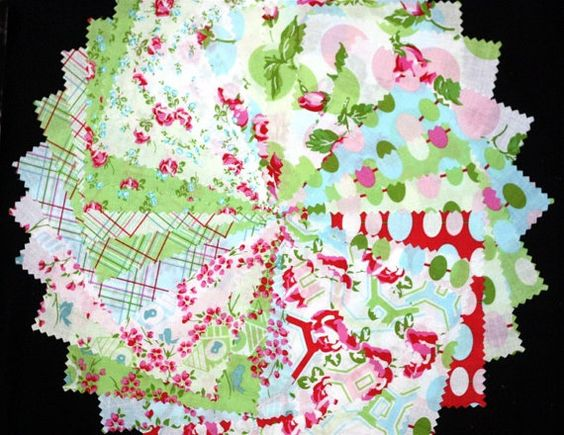Sugar Hill 25 inch Design Roll strips fabric Tanya by quilttaffy, $24.95