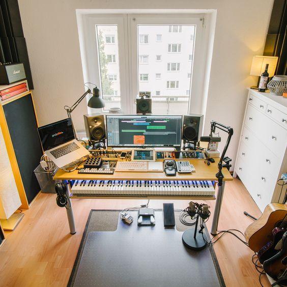 10 Awe Inspiring Small Music Studio Ideas For Apartments Music Studio Room Home Studio Music Recording Studio Home