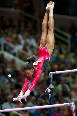 Gymnast Gabby Douglas.