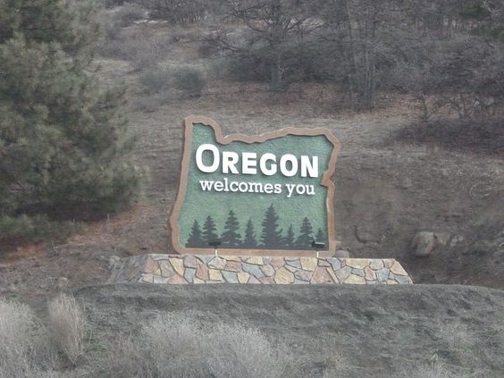 Portland is the largest city in the U.S. state of Oregon. There are numbers of beautiful  park that are  developed for picnicking and beach access. Get best Quality Heart shaped Oregon Sticker and I will lead your home. | #HeartInOregon #OregonSticker