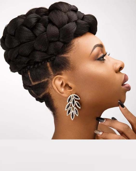 Best Braided Prom Hairstyles For Black Women 2018 Bridal Hair Inspiration Cool Braid Hairstyles Natural Hair Styles