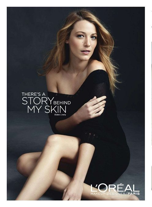 Blake Lively for Loreal Bradley Witham