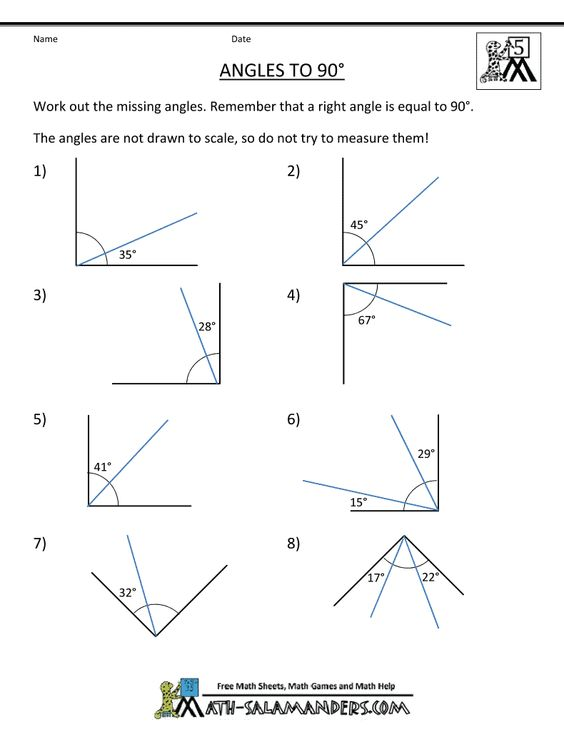 5th grade geometry angles to 90 student teaching pinterest 5th grades geometry and angles. Black Bedroom Furniture Sets. Home Design Ideas