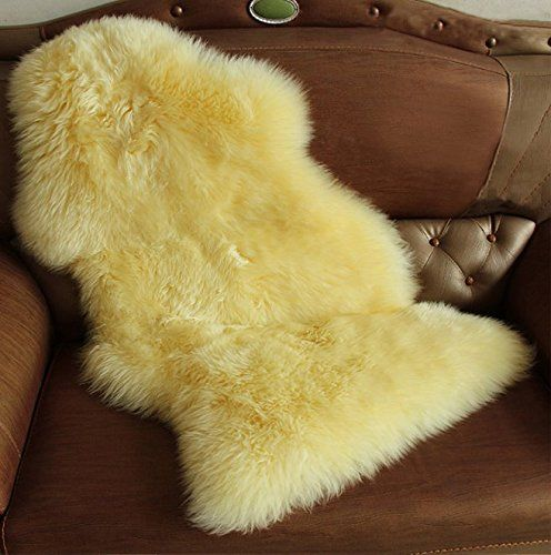 Genuine New Zealand Sheepskin 1 Pelt Handmade Premium Rugs 3 Colors Shaggy Sheepskin Fur 2 3x3 Ft 2 5x5 Ft Floor Decor Natural Leather Sheepskin Rug Sheepskin Blanket Rugs