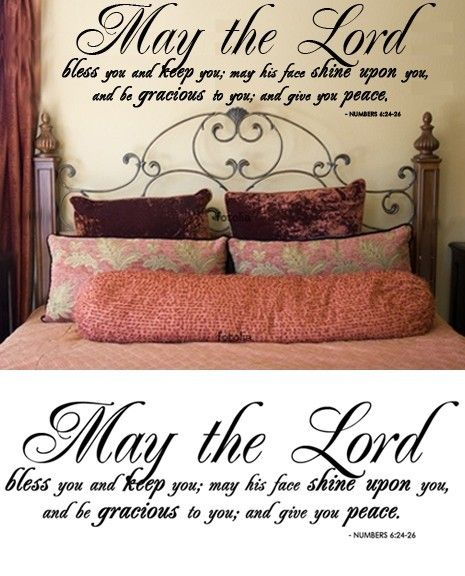 Scripture Wall Decal I Want This In White To Put Over My Babys - How do i put on a wall decal