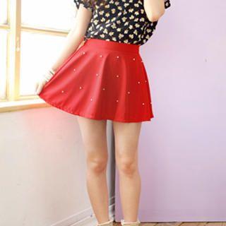 Tokyo Fashion  Beaded A-Line Skirt