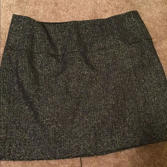 Express Silver detail mini skirt Express silver detail mini skirt. Like new worn once. Express Skirts Mini