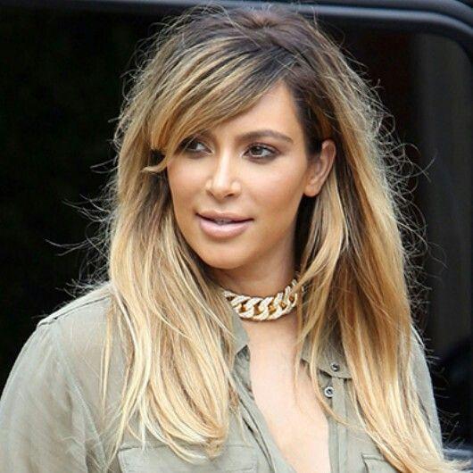 Terrific Brunette To Blonde Kim Kardashian And Blondes On Pinterest Hairstyle Inspiration Daily Dogsangcom