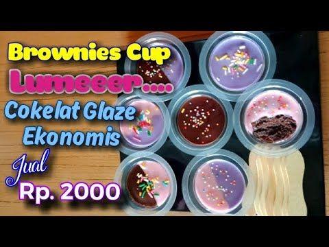 Resep Brownies Cup Lumer Kekinian Ide Usaha Jualan Kue Youtube Resep Ide Makanan Kue