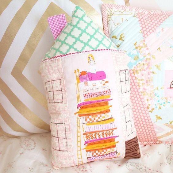 I love house pillows.