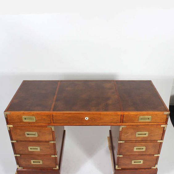 Top mahogany desk leather tops modern desk and furniture storage