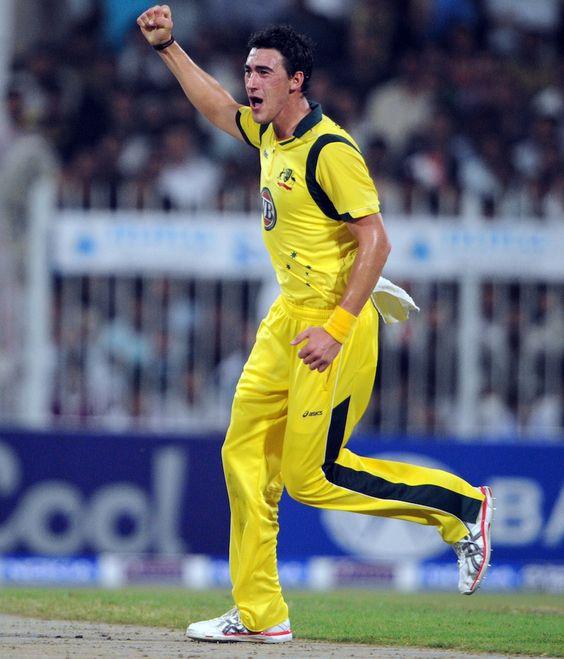 Mitchell Starc (Aus) best figures 5-42 vs Pakistan 1st ODI, Sharjah 28 Aug 2012