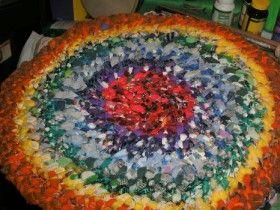 Braided Rag Rugs: Homemade Rug, Braided Rug, Diy Craft