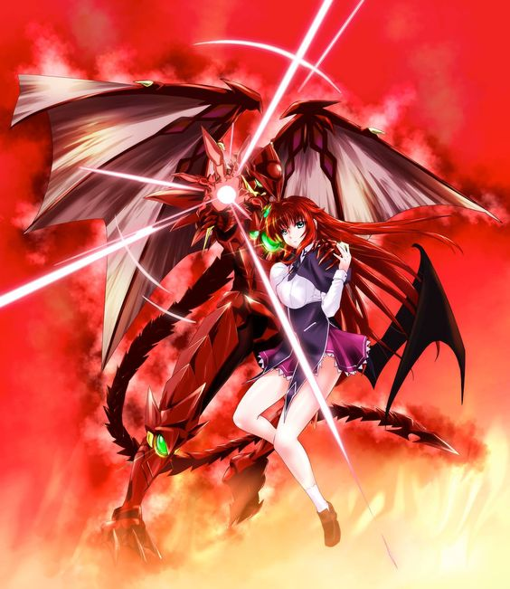 The Red Dragon Emperor & The Crimson-Haired Empress