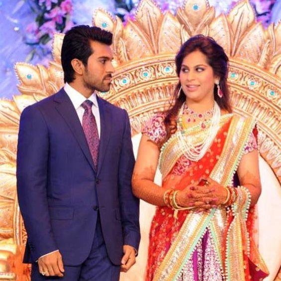 Famous Indian Film Star Ram Charan Tejas Beautiful Wife Upasana Kamineni Granddaughter Of